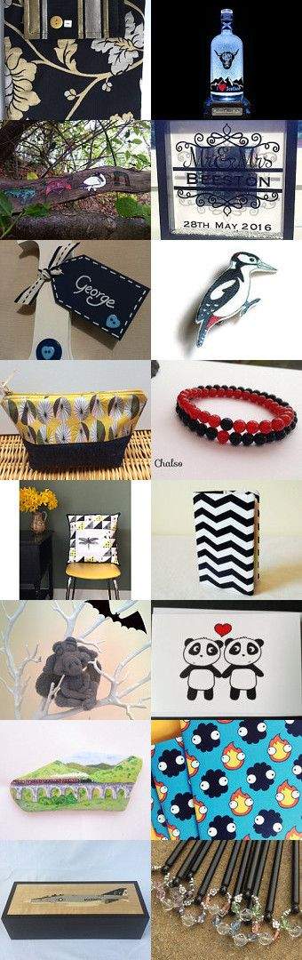 A Touch of Black by Carole Russell on Etsy--Pinned+with+TreasuryPin.com