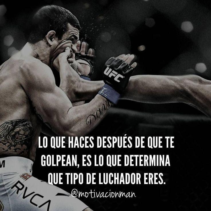 #Repost @motivacionman Un verdadero líder es aquel que logra aguantar todos los golpes y cada vez que lo tumben levantarse esa es la única manera de lograr algo en la vida levantandote mas veces de las que te tumben