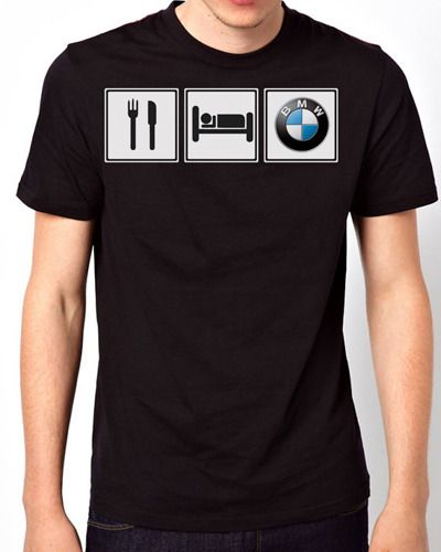 new design eat sleep bmw motorsport men black t shirt from. Black Bedroom Furniture Sets. Home Design Ideas