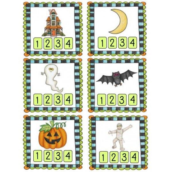 Je lis mes syllabes : Halloween