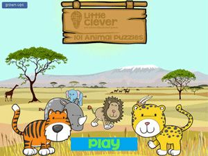 101 Animal Puzzles for Kids - play with animals from all around the world (5-star review *****).