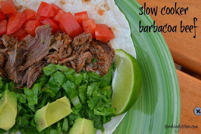 Slow Cooker Barbacoa Beef
