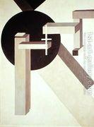 Proun 10, 1919  by Eliezer (El) Markowich Lissitzky