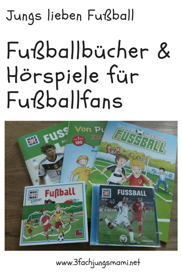 Jungs lieben einfach Fußball, oder? Tipps für Bücher für kleine Fußballfans #fußball