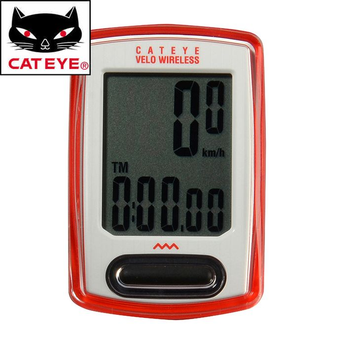 CATEYE Bicycle Computer CC-VT230W Velo Wireless Cycling Speedometer aterproof Multifunction Bike Computer Stopwatch 3 Colors
