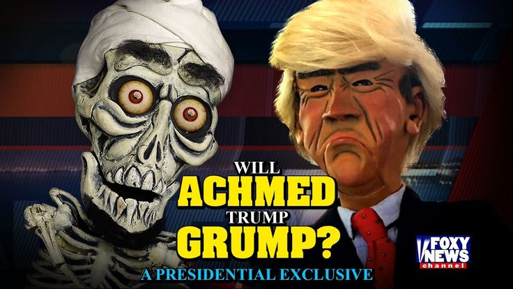 Will Achmed Trump Grump? An Exclusive Holiday Interview   JEFF DUNHAM