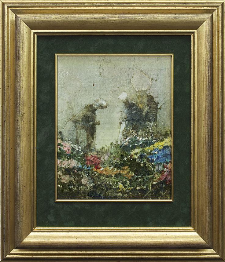 Jerzy Duda Gracz   Painting 975 (DUTCH), 1985   oil, hardboard   26 x 21 cm