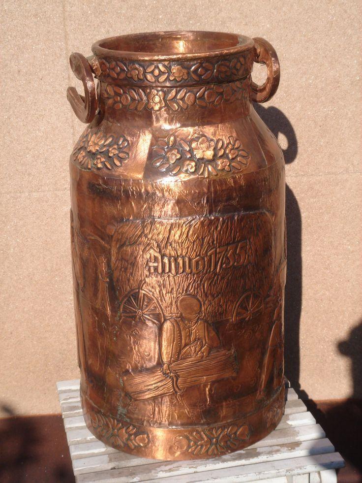 Antique Spanish Bungalow House Plans: Super Nice Antique Spanish Milk Can 15 L CA 1940