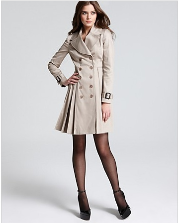"""Burberry """"Bridgeford"""" Trench Coat:Color - Oyster, SS2013, Olivia Pope, Scandal, Episode 219 """"Seven Fifty Two"""""""