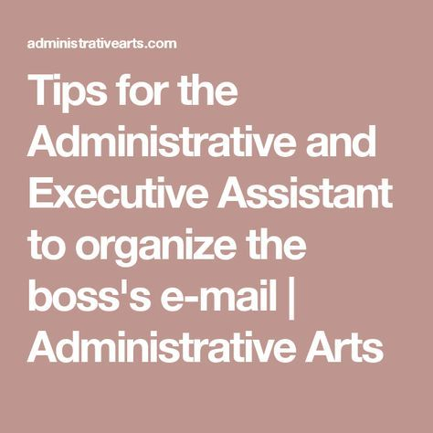 The 25+ best Executive administrative assistant ideas on Pinterest - executive assistant skills