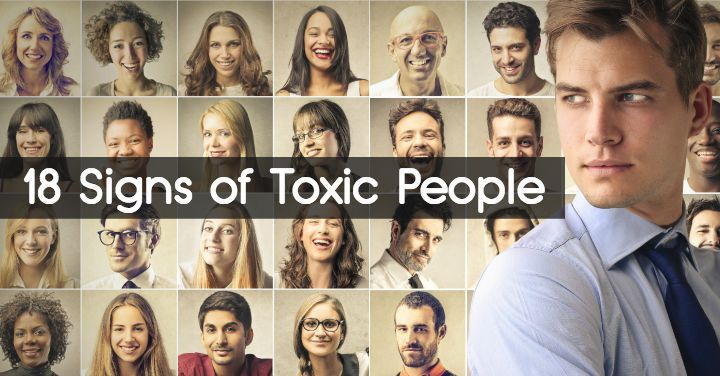 No doubt there are some toxic people in your life that are causing needless drama, undermining your self-esteem or simply spreading their negativity...