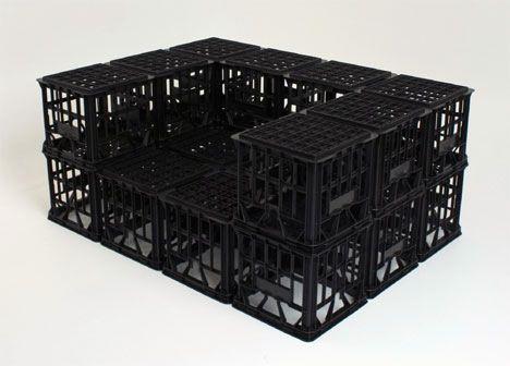 Ah The Milk Crate, The Original Building Block For DIY Furniture. Milk  Crates Are