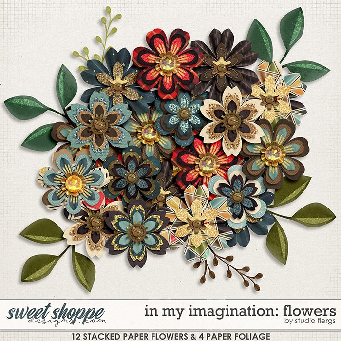 In My Imagination: FLOWERS by Studio Flergs