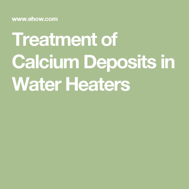 how to clean calcium deposits from iron