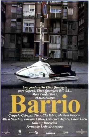 Barrio DVD ESP LEO