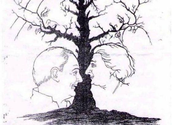 ¿Cuántas caras eres capaz de ver en este árbol? | Verne EL PAÍS