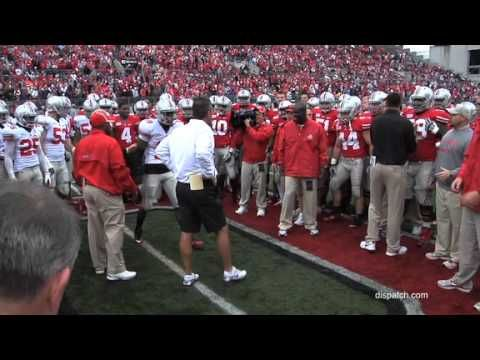 Ohio State football circle drill before 2012 Spring Game!!