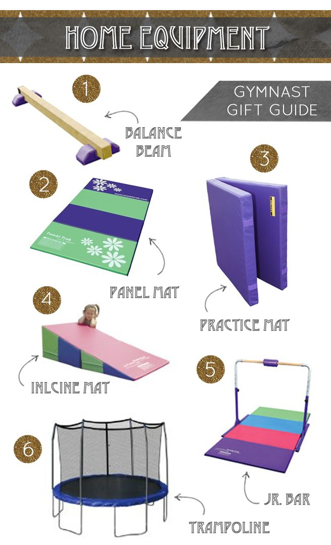 Gymnastics Equipment for home | What & Where to buy