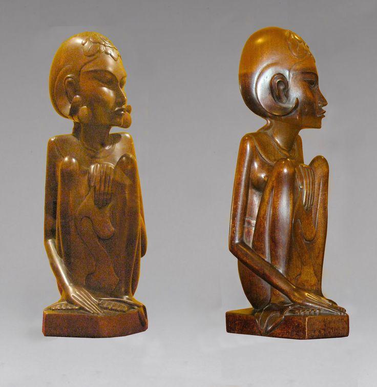 Woodcarving bali  art deco carving