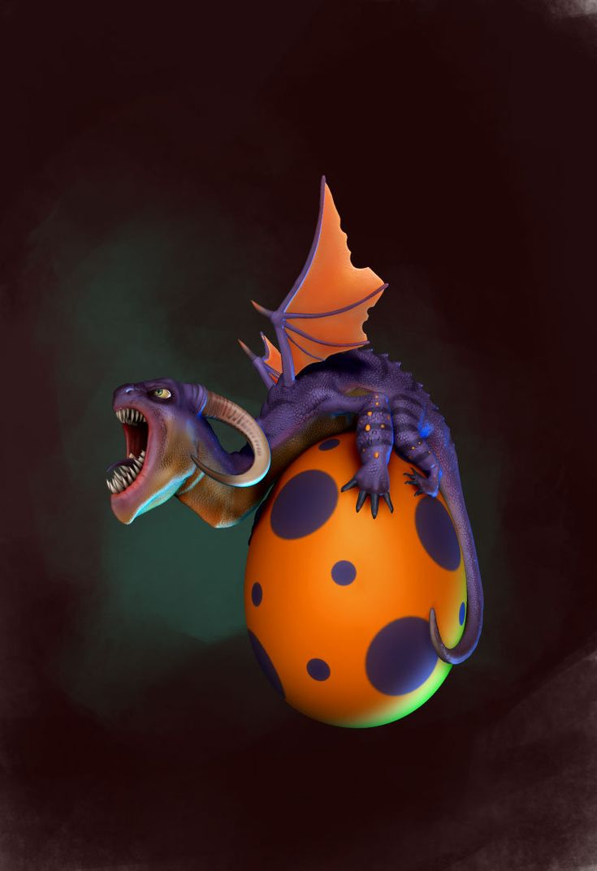 small dragon 01, Drasko Vasic on ArtStation at http://www.artstation.com/artwork/small-dragon-01