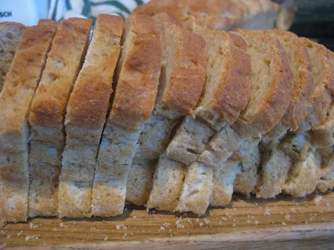 No recipe but great tips for making gluten free bread in bread maker
