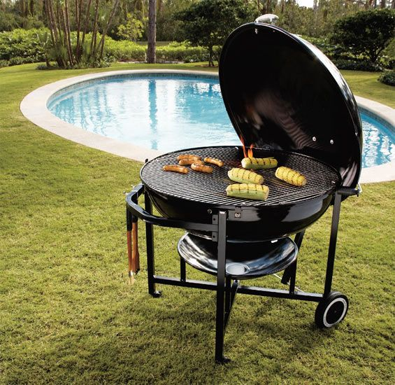 Someday, my husband will own one of these...the King of all Weber Grills...the King Ranch Edition!