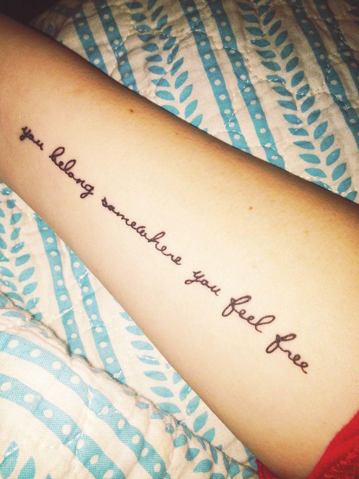 I think these are tom petty lyrics. #tompetty #tattoo #inked