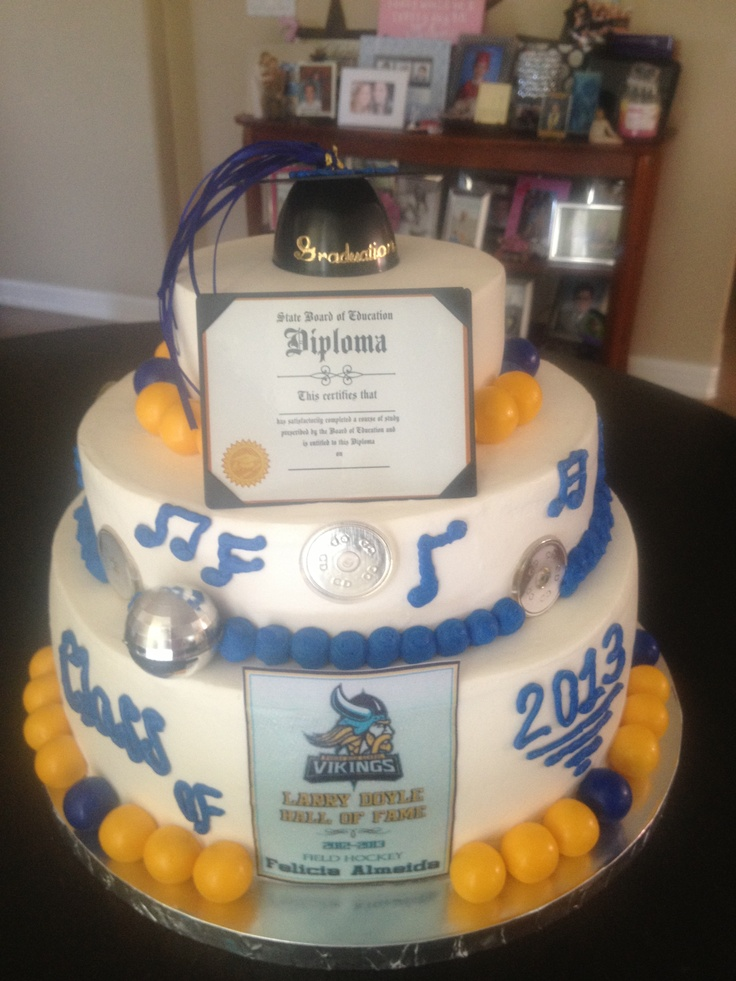 Marina High School Graduation Cake