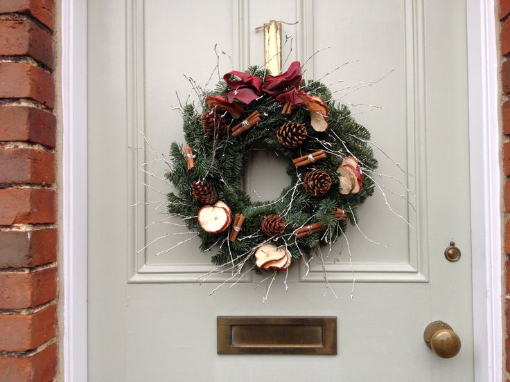 A very special bespoke wreath.  Made for a very special person.  They loved it.