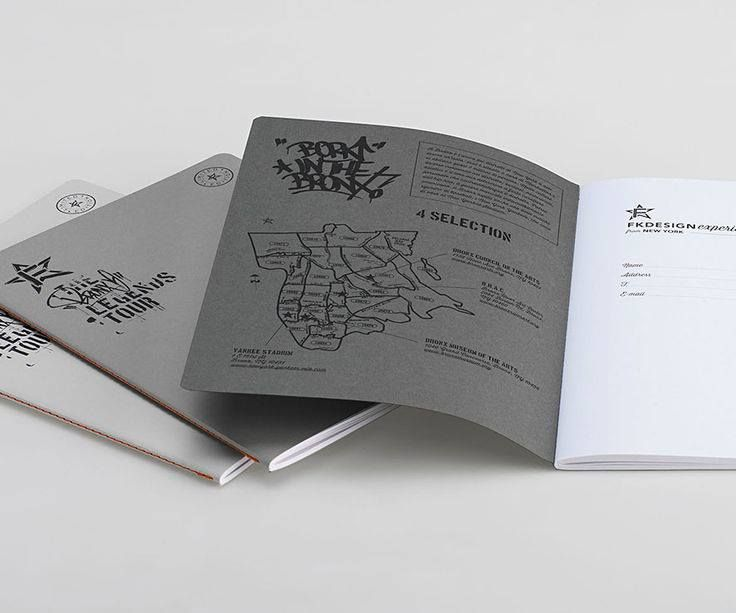 Notebook / Printing: #CSCattapan on paper #Burano by #Favini / Design: #FKDesign