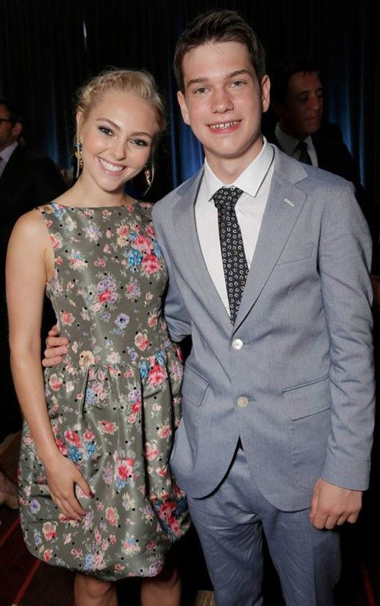| THE WAY, WAY BACK LA PREMIERE | AnnaSophia Robb and Liam James hanging out at the after party!