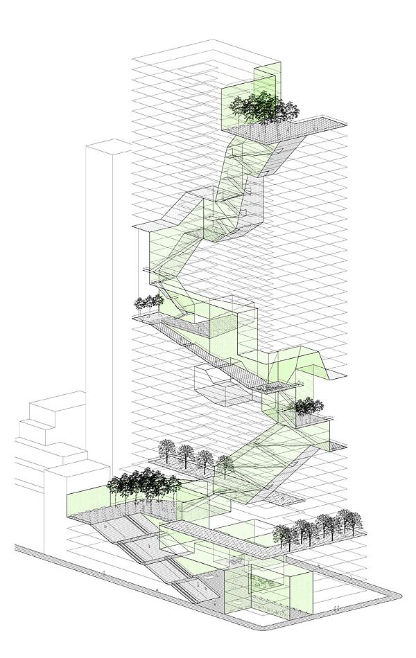 Rafi Segal, New Housing Prototypes, Vertical Landscaping