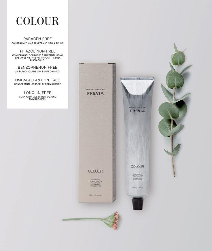 Previa Natural Haircare - Colour