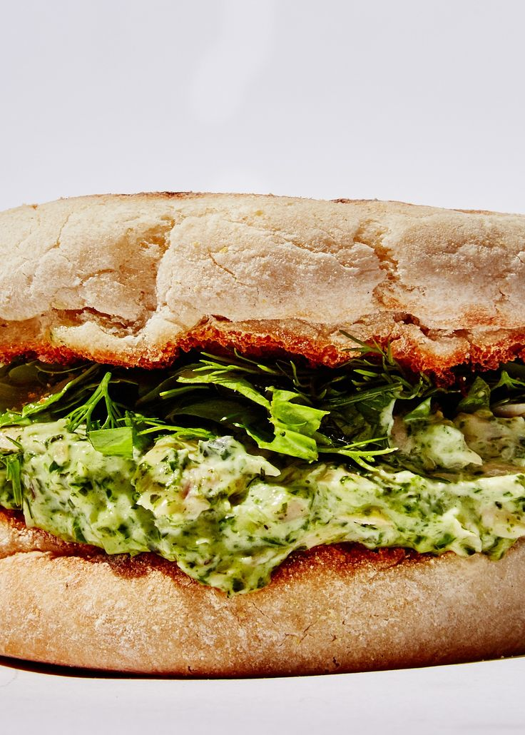 You're a goddess, so eat like one.I've never loved tuna sandwiches because all tuna, even really expensive tuna, is dry AF. But it's a good source of protein that can be truly delicious as long as you use it right. For this tuna sandwich recipe, I decided to add a Green Goddess dressing that you make