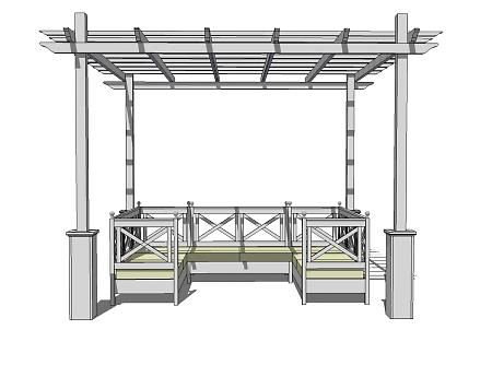 DIY Pergola Plans by the amazing Ana White...this chick can build anything!