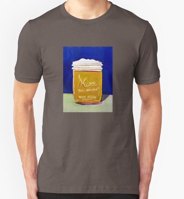 Homebrew in Pint Jar Beer Attire by Scott Clendaniel