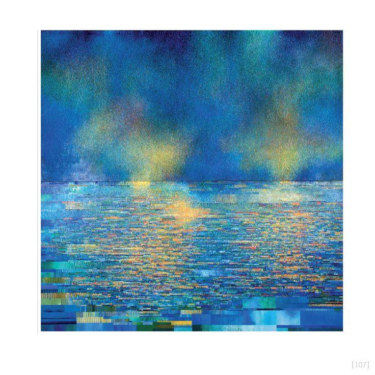 Sea and Sky (1972) 3050 x 3050mm