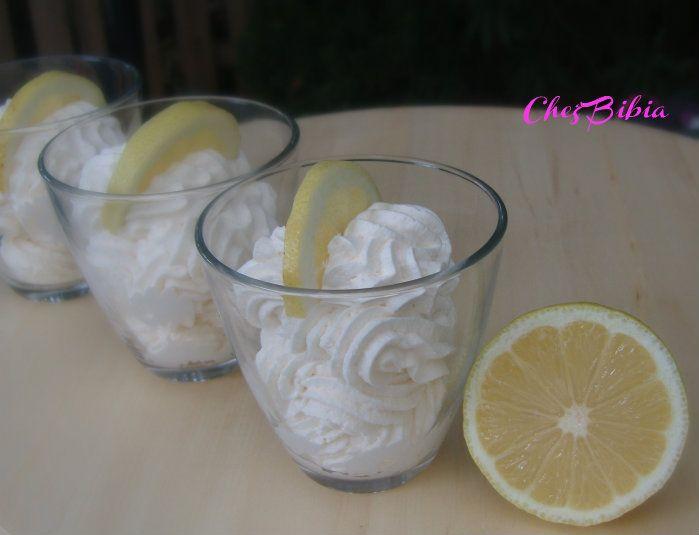 Mousse di limone