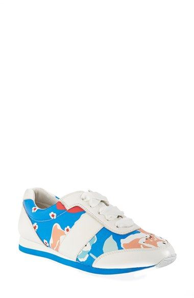 kate spade new york 'sidney' leather sneaker (Women) available at #Nordstrom