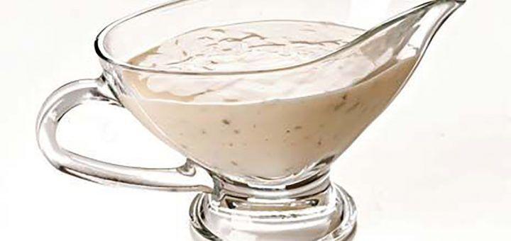 Molho de Iogurte para Saladas
