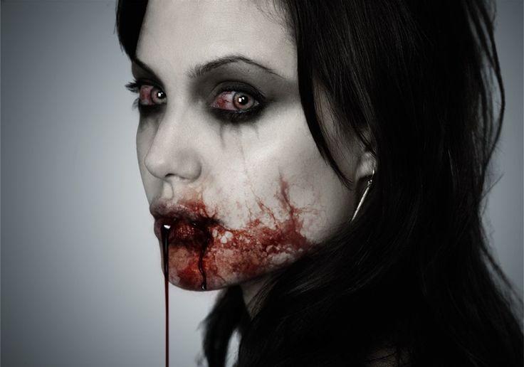 vampire Angelina | Vampiros. Mundo sobrenatural | Pinterest