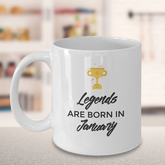 Legends are Born in January/ February/ March/ April/ by dungishop