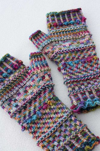 Miss Monet's Fingerless Mitts