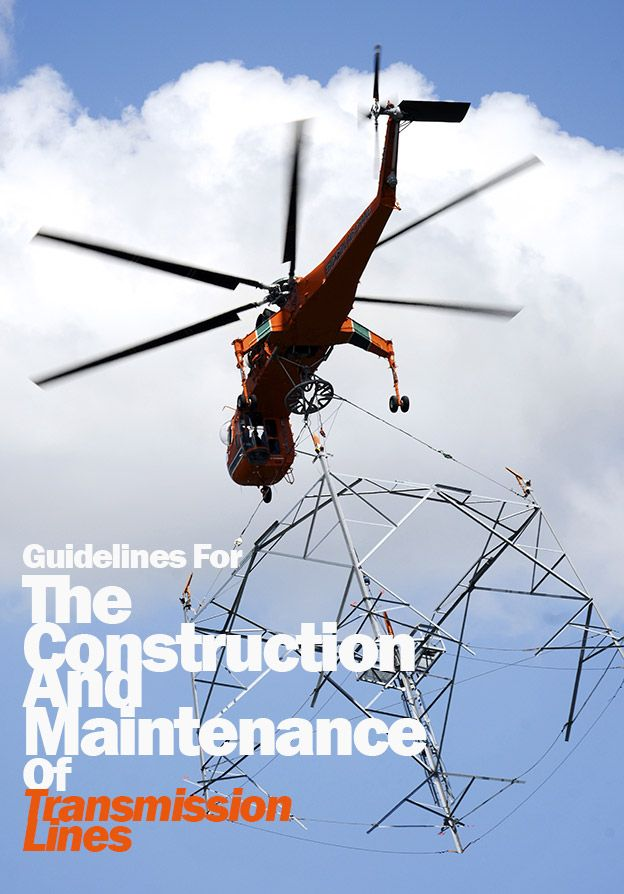 Guidelines For The Construction And Maintenance Of Transmission Lines | EEP