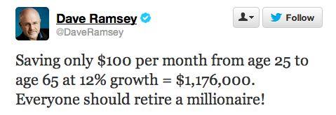 Dangerous Retirement Planning Advice From Financial Guru Dave Ramsey