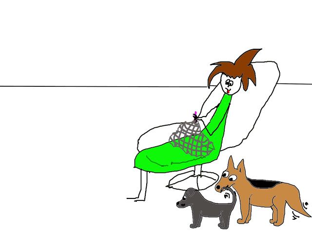 Mit hundeliv med Vaks.: Kampdag / Women's day