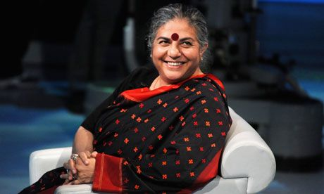 Vandana Shiva: corporate monopoly of seeds must end