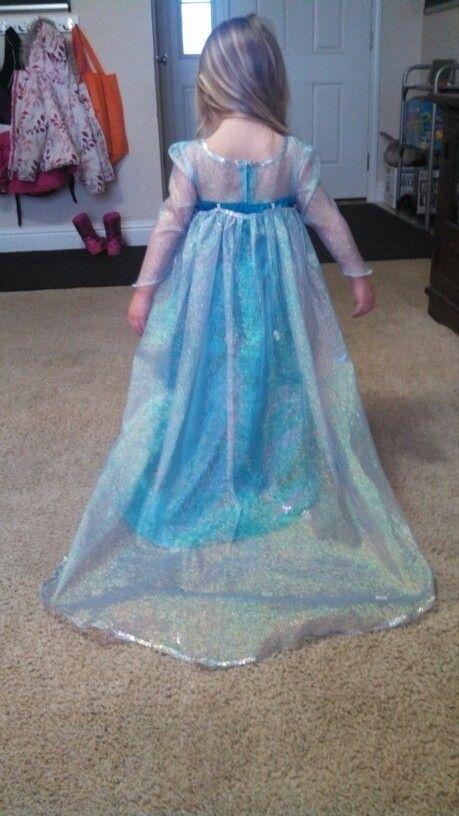 Elsa dress hand made