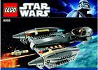 LEGO STAR WARS 8095 General Grievous' Starfighter - 100% Complete w Instructions