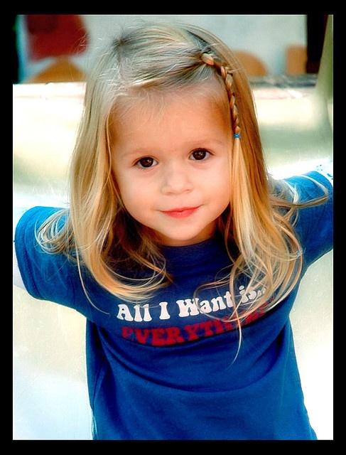 Stupendous 1000 Ideas About Little Girl Hairstyles On Pinterest Girl Short Hairstyles Gunalazisus